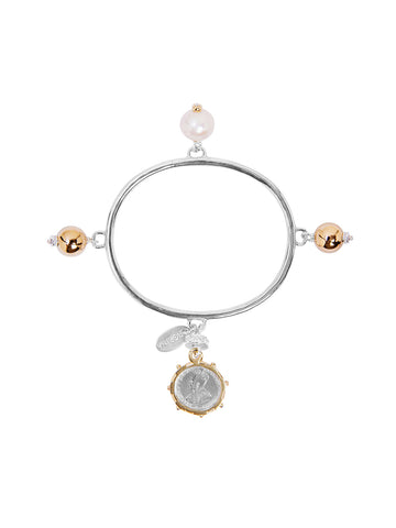 Laura Bangle with Cross