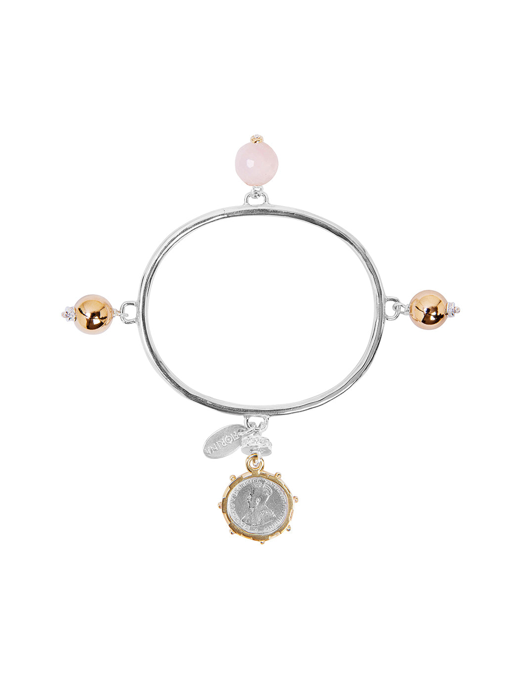 Fiorina Jewellery Vivaldi Bangle Pink Opal