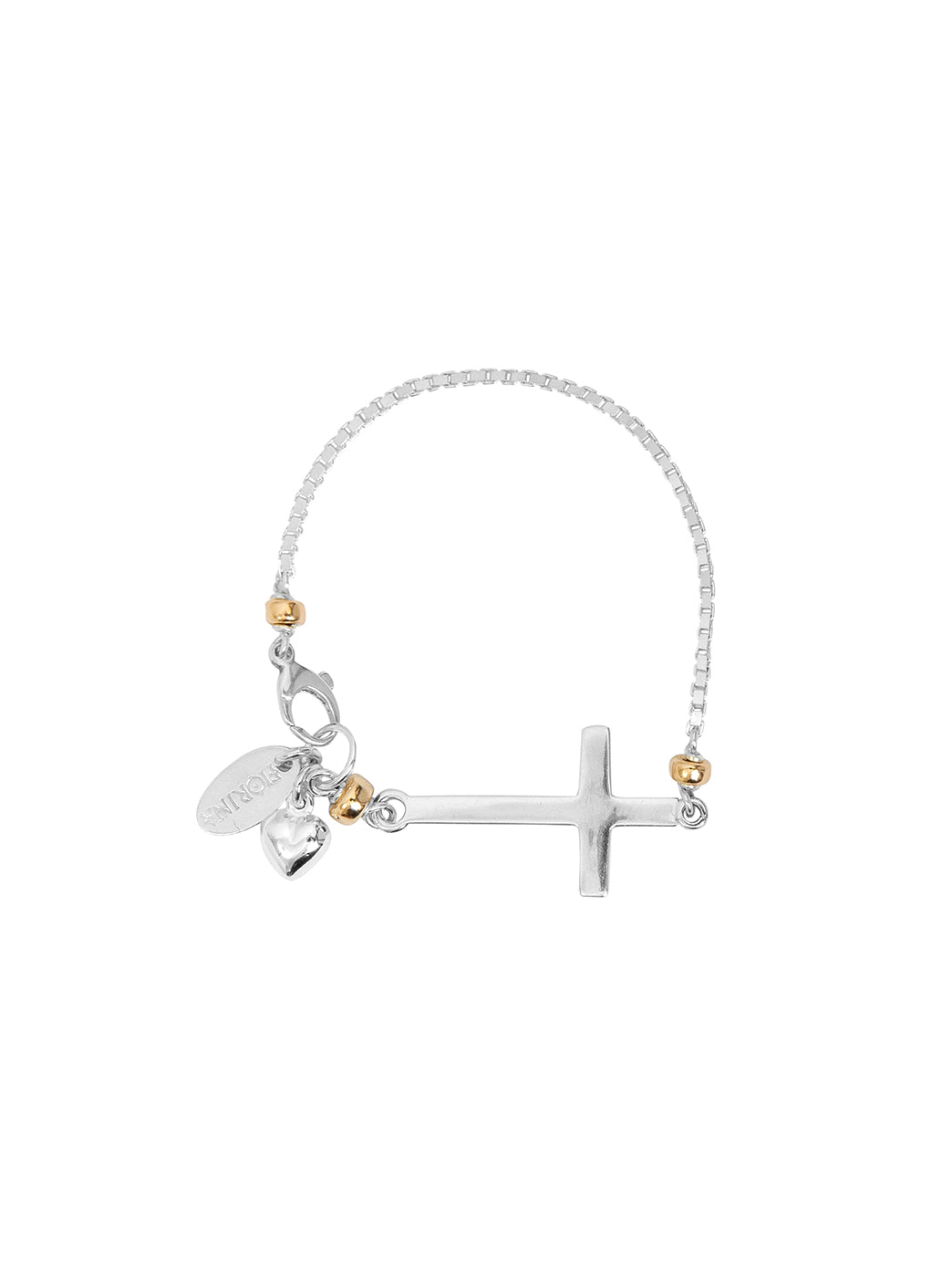 Fiorina Jewellery Side Cross Bracelet
