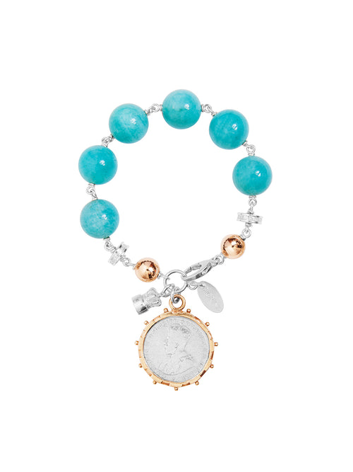Fiorina Jewellery Elite Shirley Bracelet Amazonite
