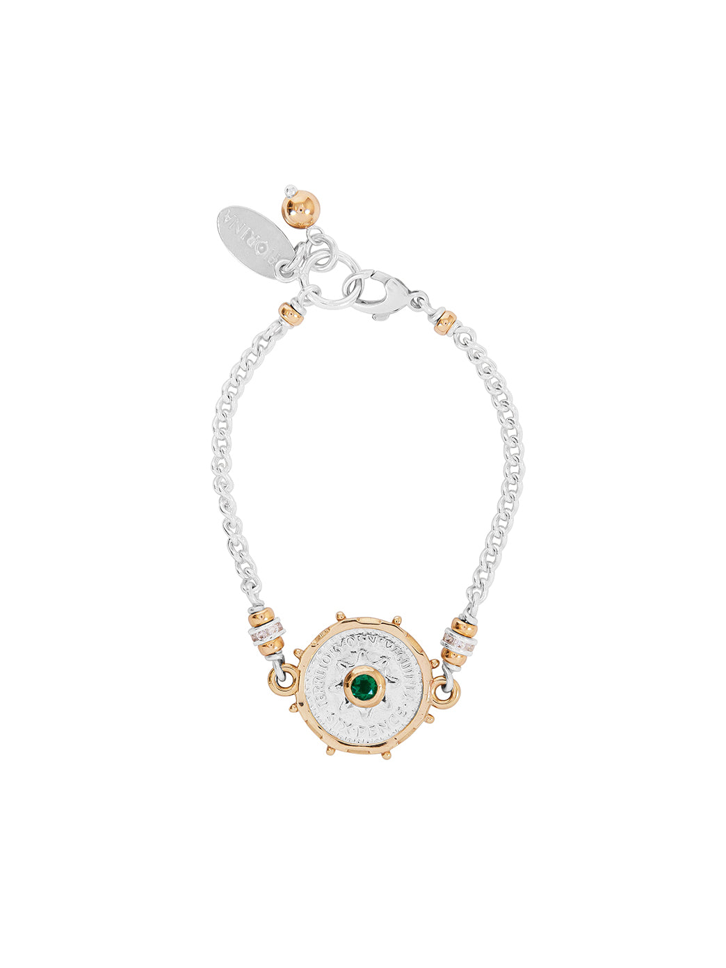 Fiorina Jewellery Joy Bracelet Emerald
