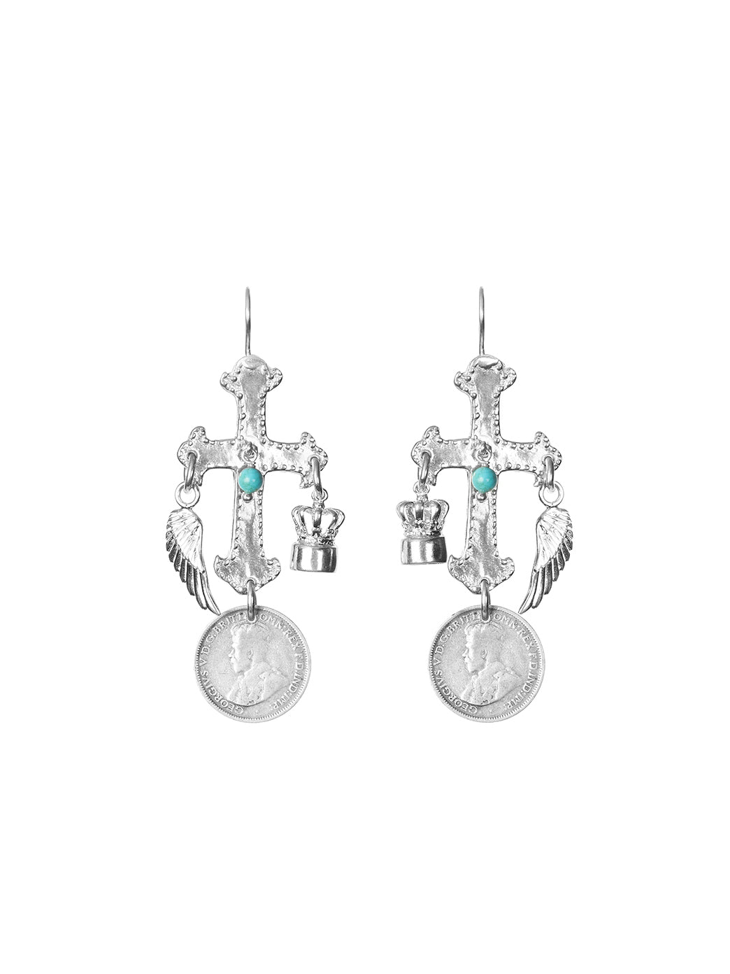 Fiorina Jewellery Antonietta Earrings Turquoise