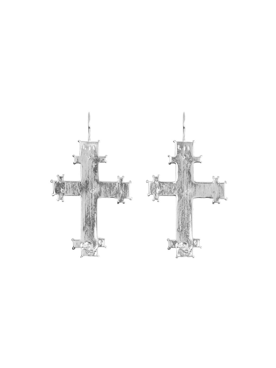 Fiorina Jewellery Byzantine Cross Earrings
