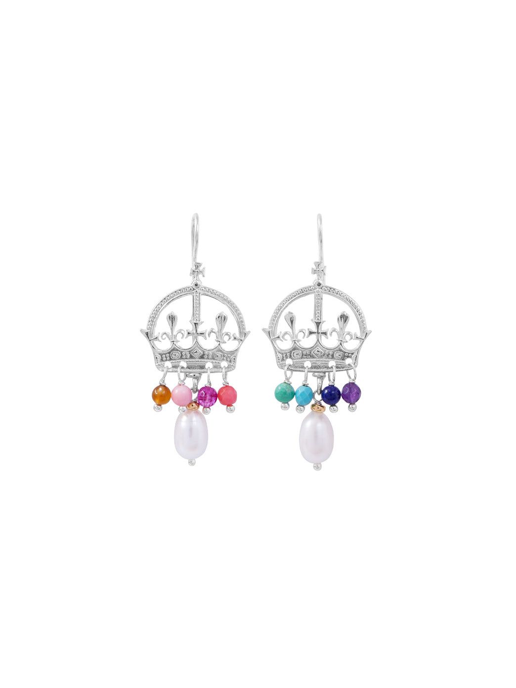 Fiorina Jewellery Coronet Earrings Chakra