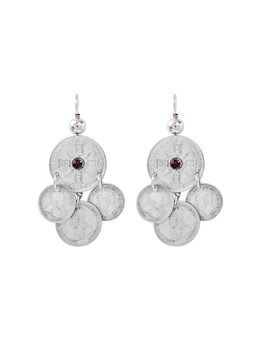 Fiorina Jewellery Gypsy Coin Earrings