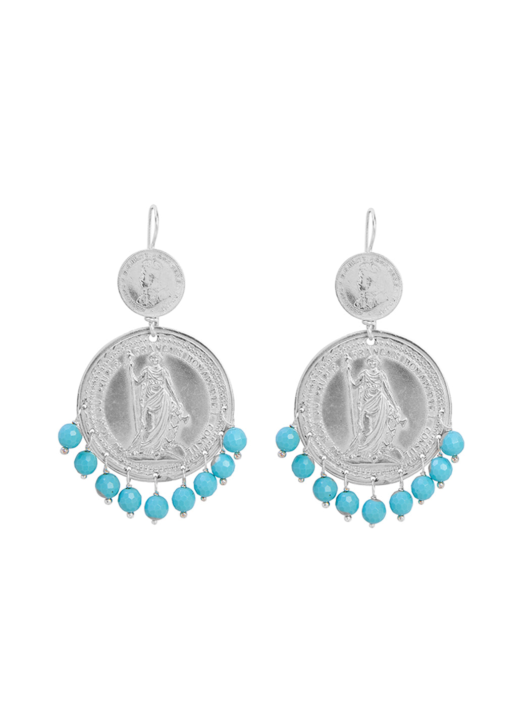 Fiorina Jewellery Marrakesh Earrings Turquoise