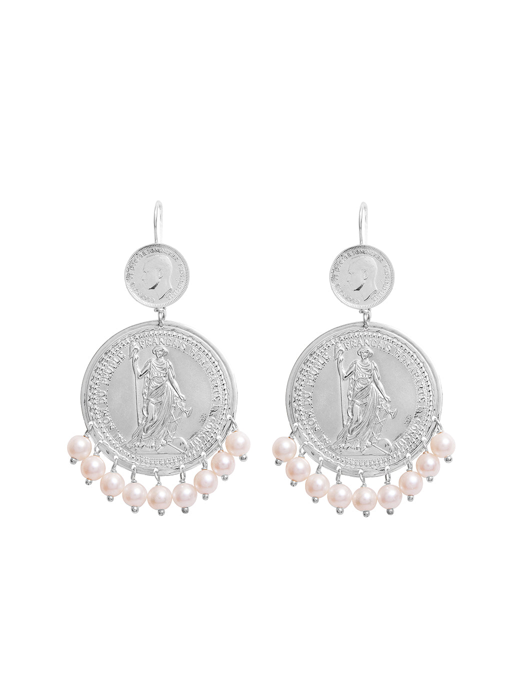 Fiorina Jewellery Marrakesh Earrings White Pearl