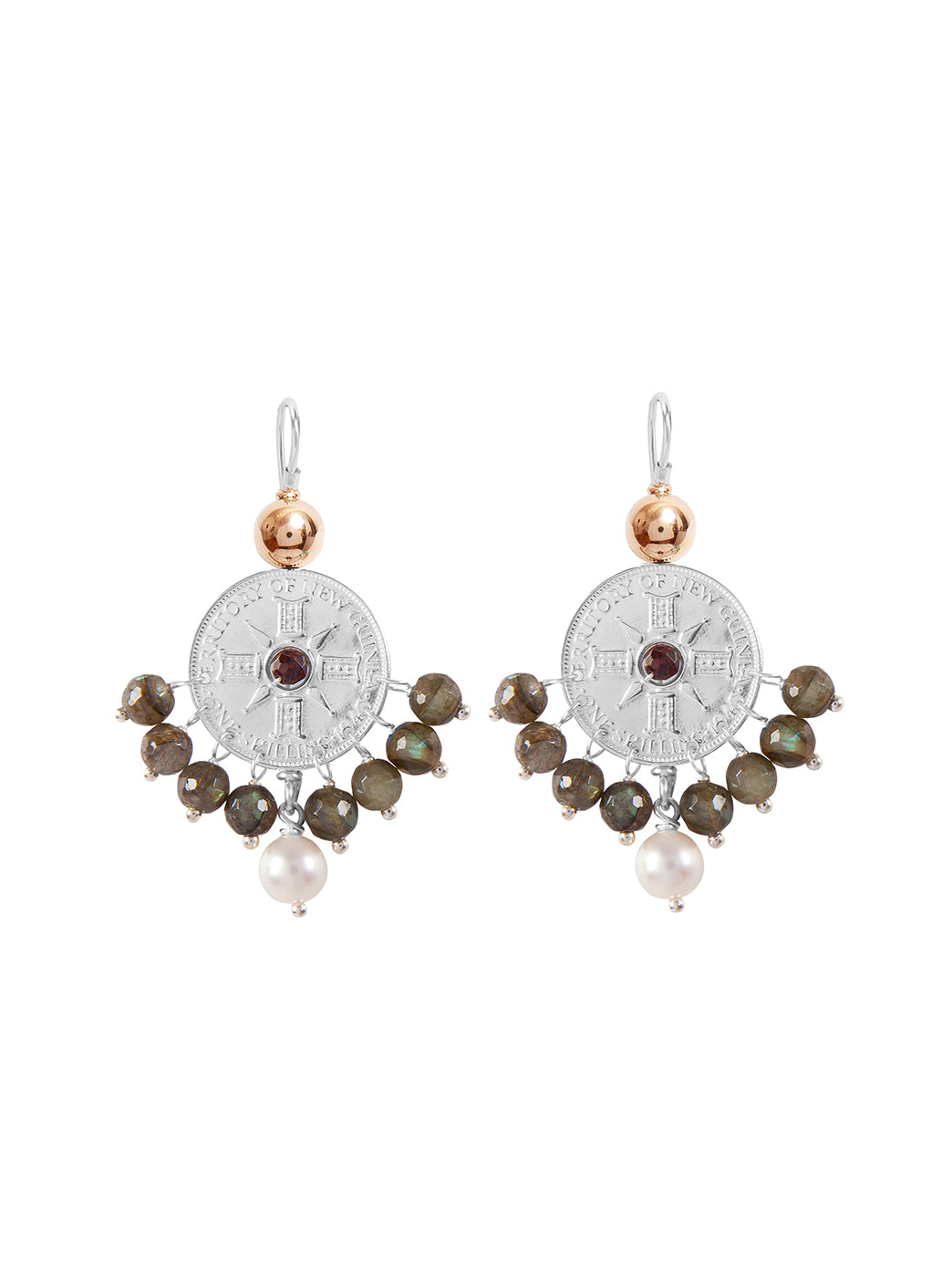 Fiorina Jewellery Happy Earrings Labradorite