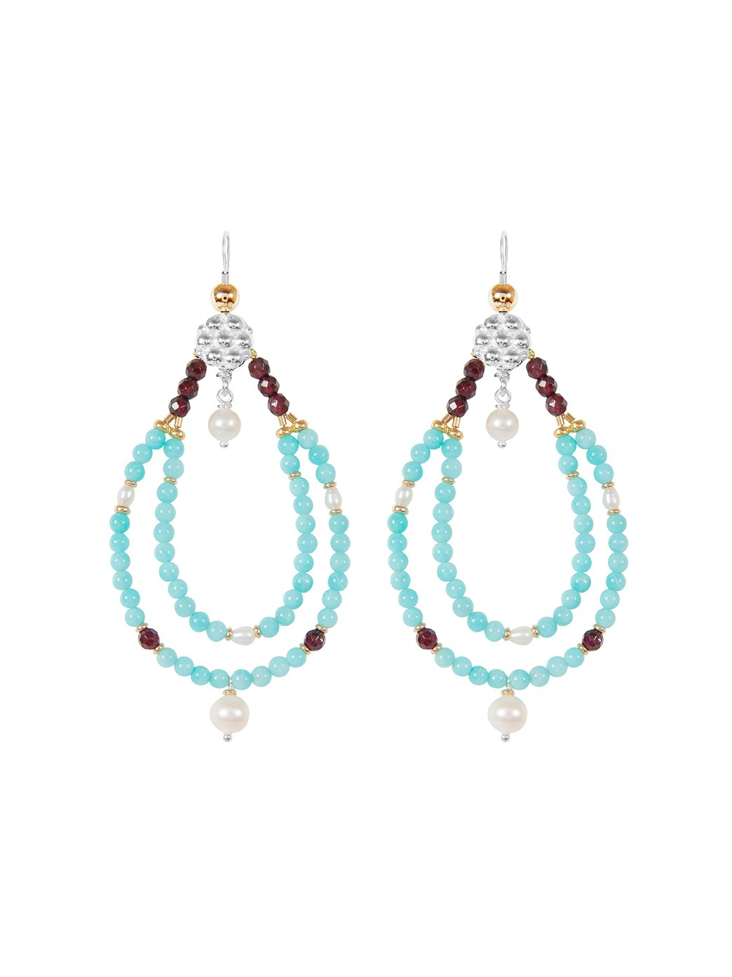 Fiorina Jewellery Rahini Earrings Amazonite