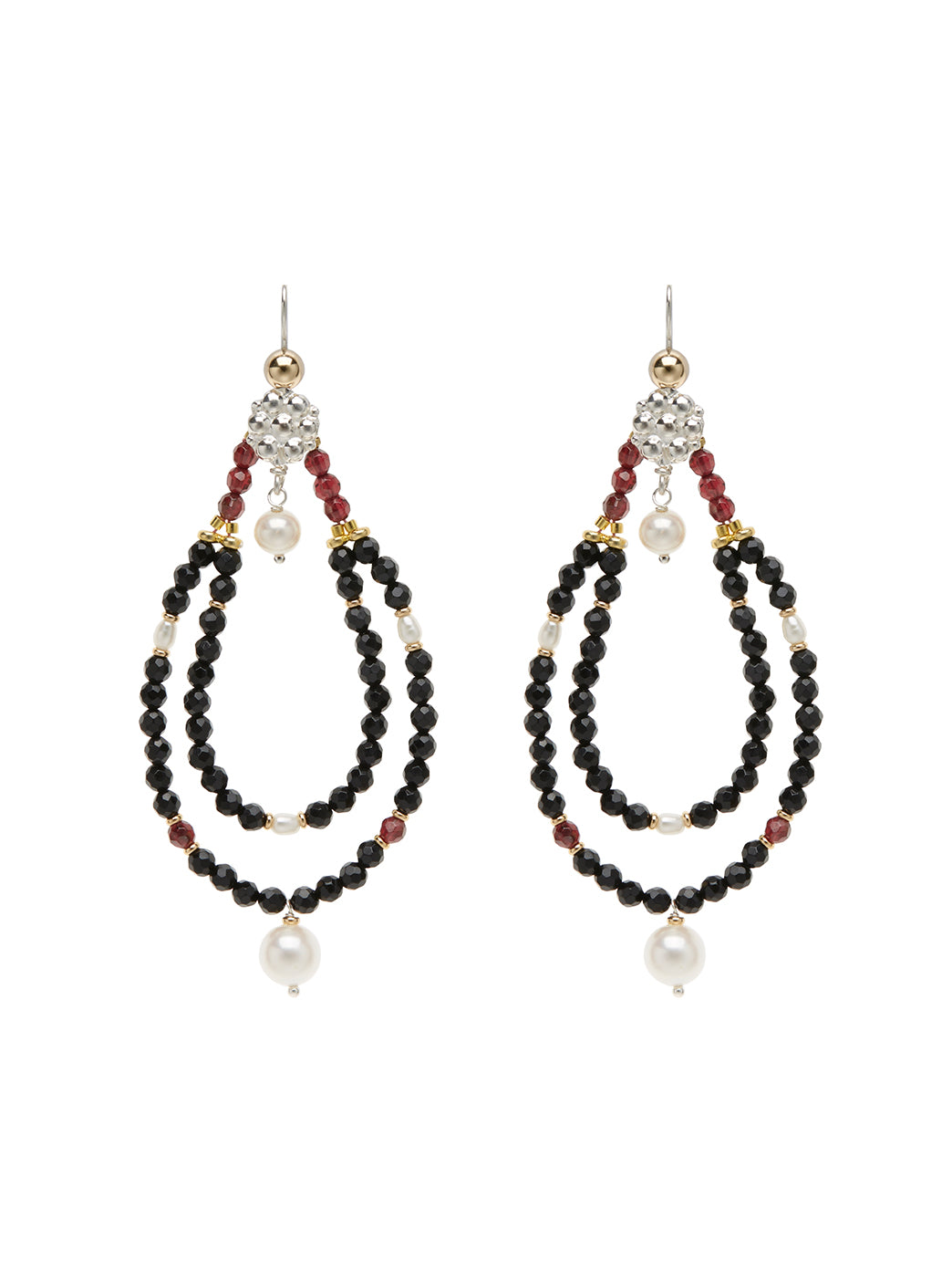 Fiorina Jewellery Rahini Earrings Black Onyx