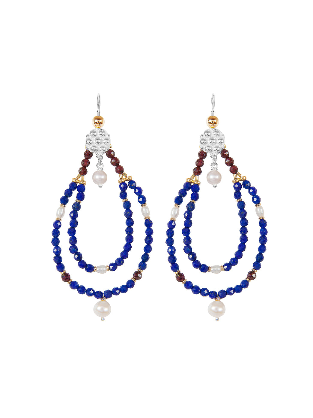 Fiorina Jewellery Rahini Earrings Lapis