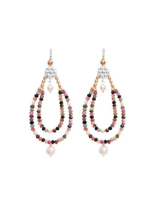 Fiorina Jewellery Rahini Earrings Tourmaline
