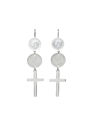 Medium Shield Earrings