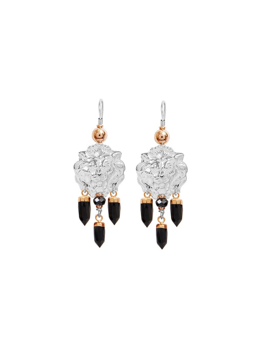 Fiorina Jewellery Taormina Earrings Black Onyx