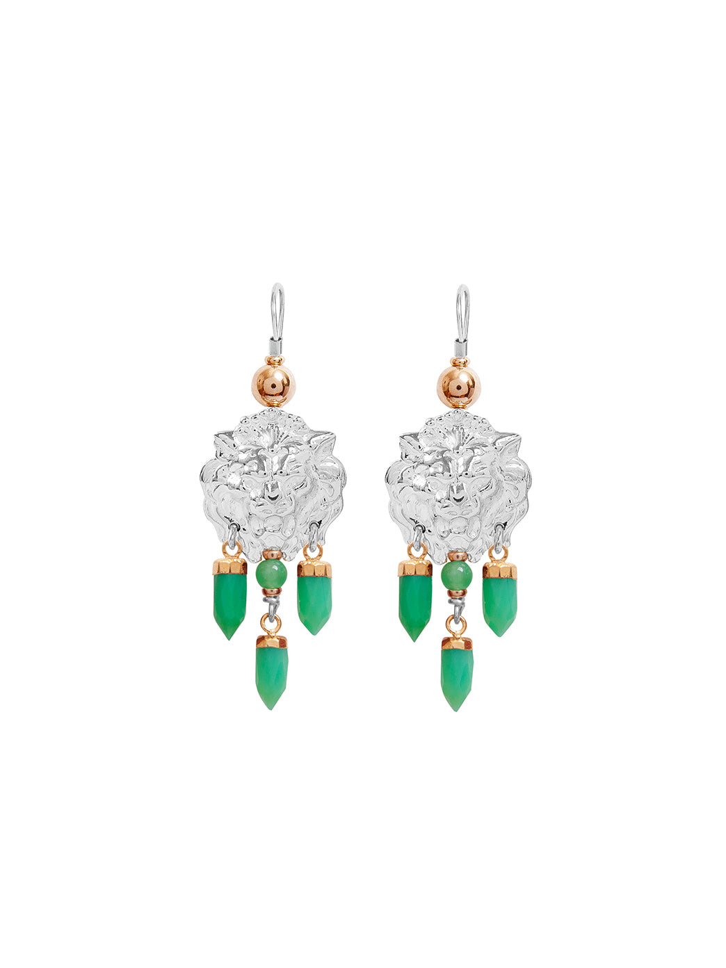 Fiorina Jewellery Taormina Earrings Chrysoprase