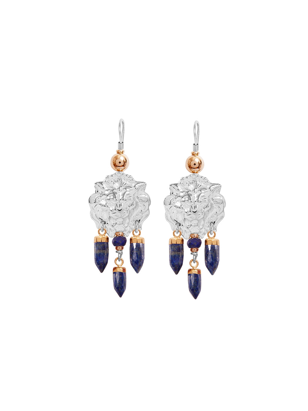 Fiorina Jewellery Taormina Earrings Lapis