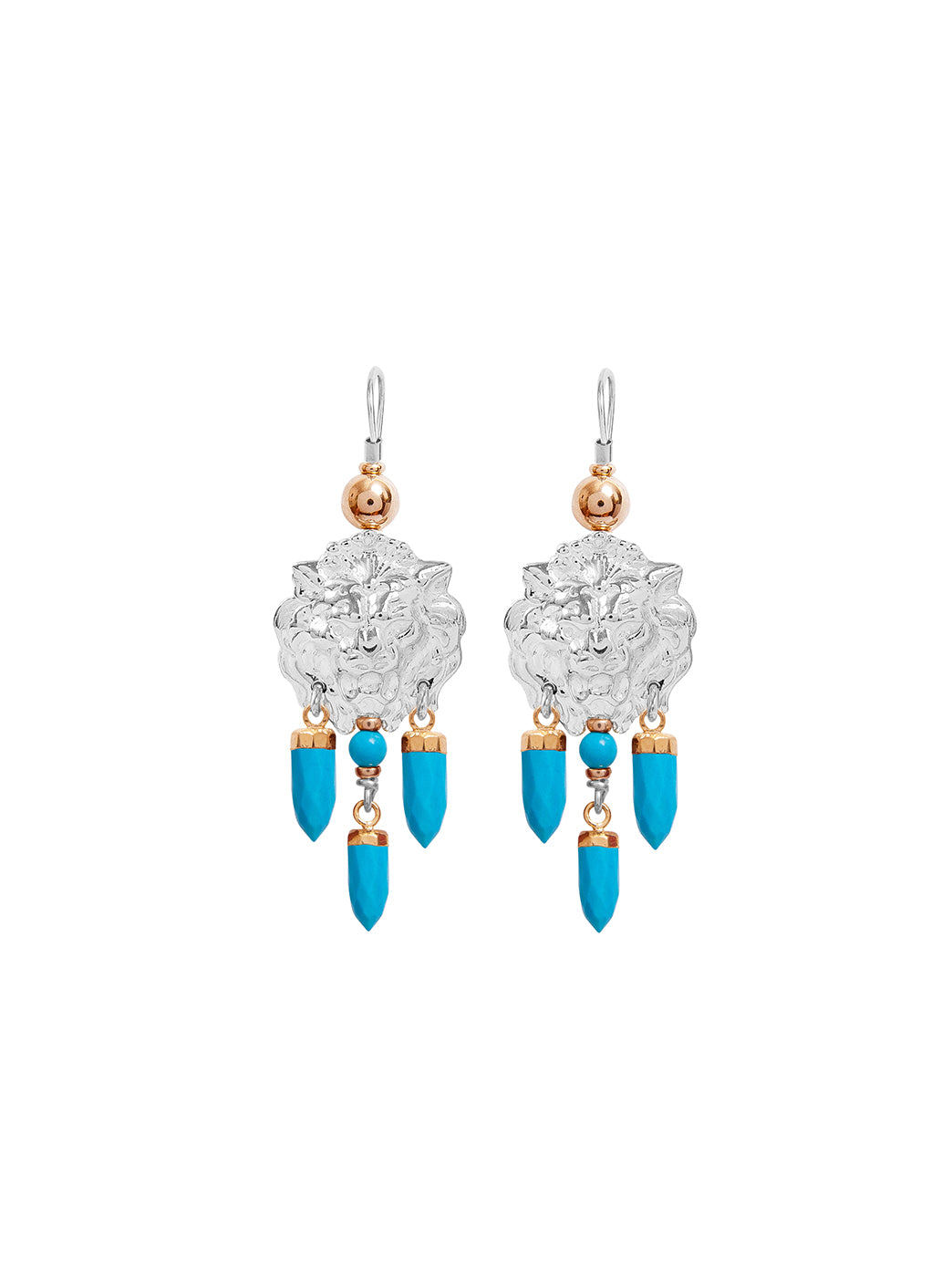 Fiorina Jewellery Taormina Earrings Turquoise