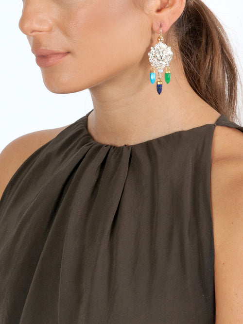 Fiorina Jewellery Taormina Earrings Chakra Model 1