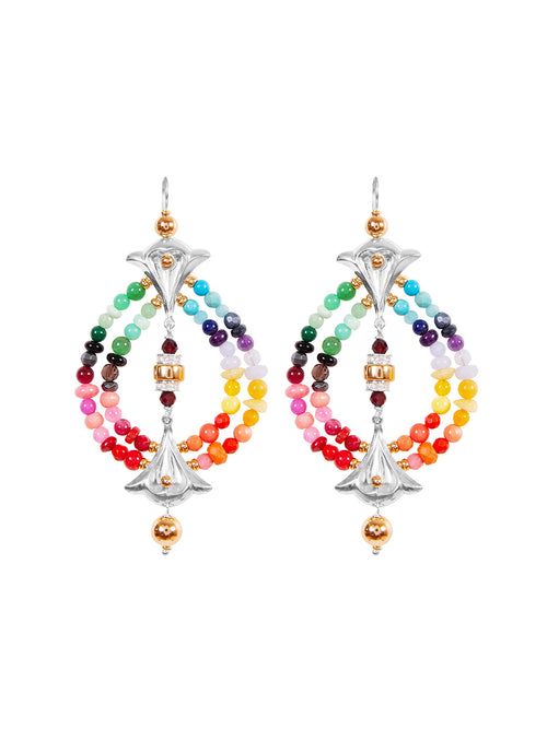 Fiorina Jewellery Lumiere Earrings Chakra
