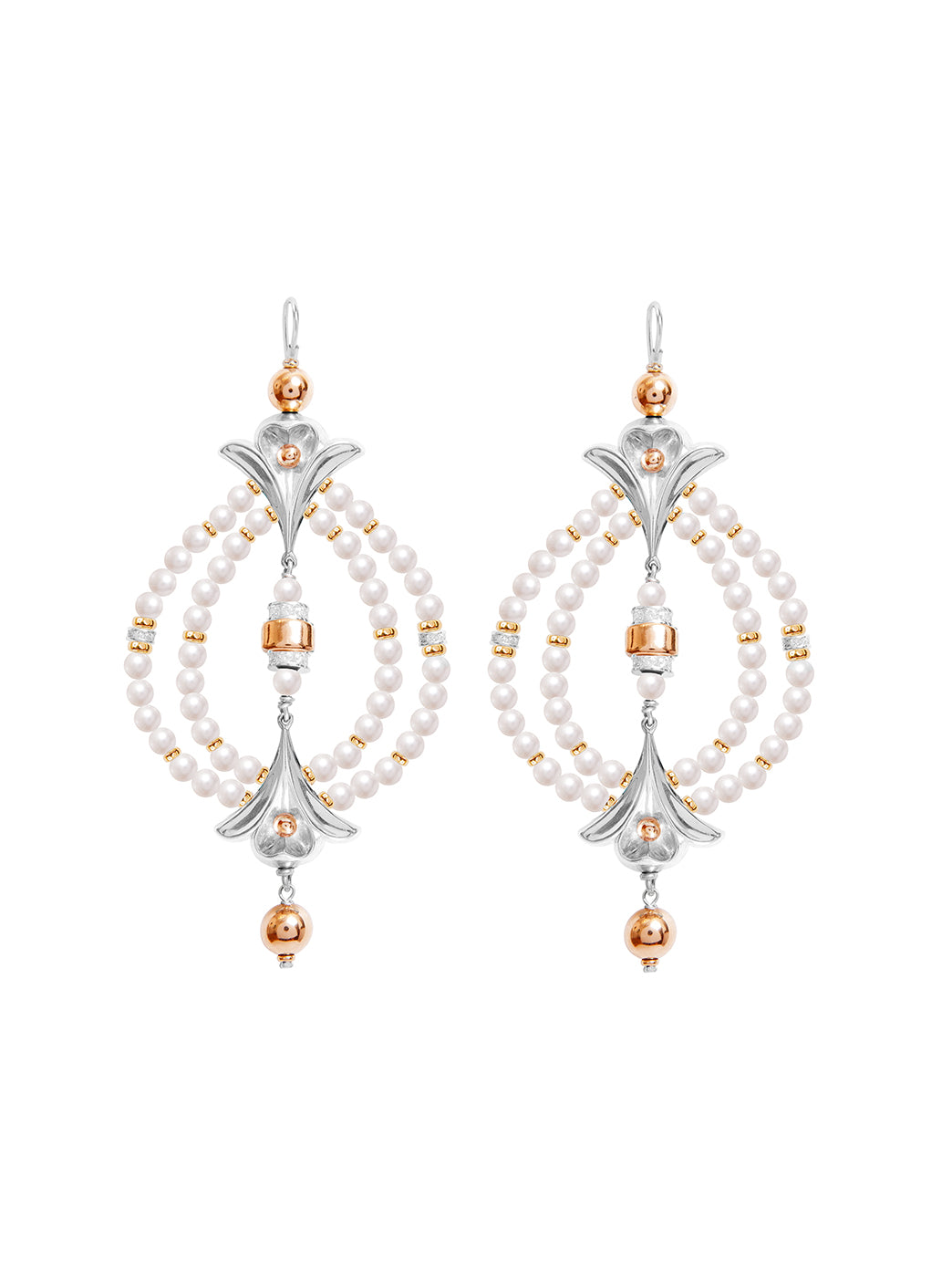 Fiorina Jewellery Lumiere Earrings Pearl