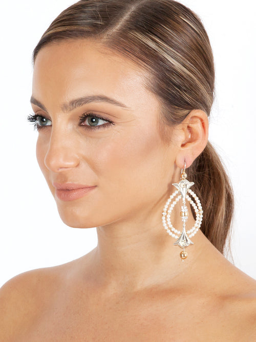 Fiorina Jewellery Lumiere Earrings Pearl Model