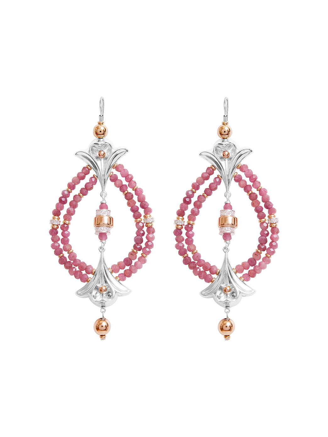Fiorina Jewellery Lumiere Earrings Ruby