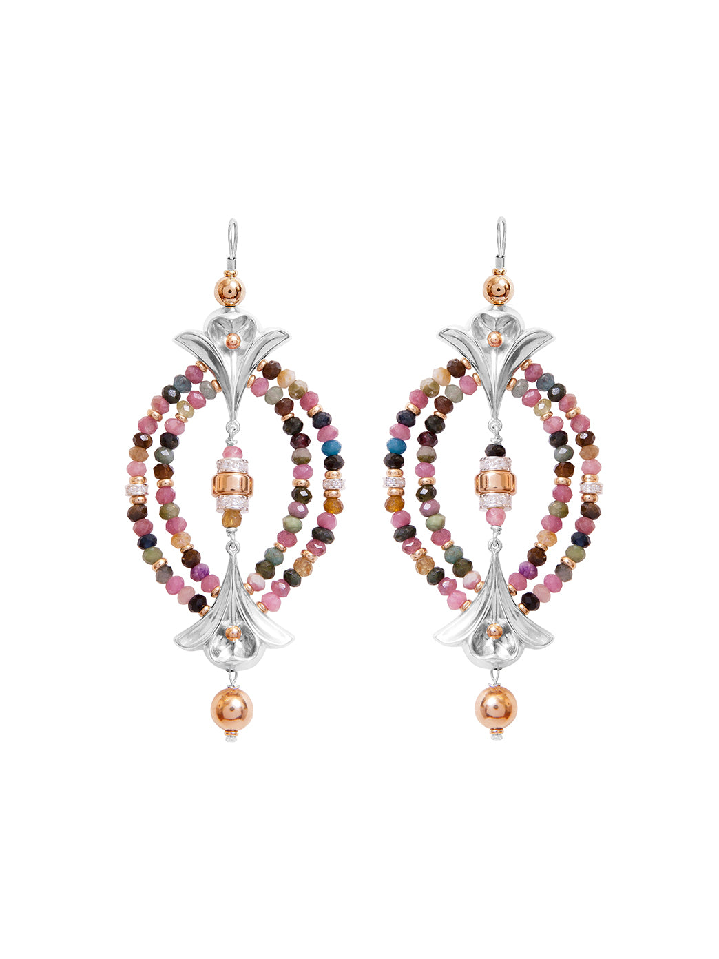 Fiorina Jewellery Lumiere Earrings Tourmaline