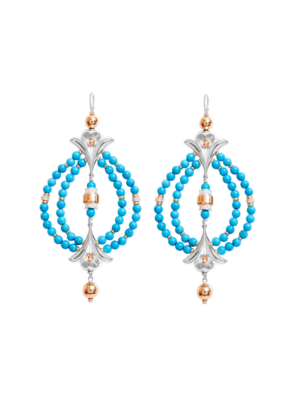 Fiorina Jewellery Lumiere Earrings Turquoise