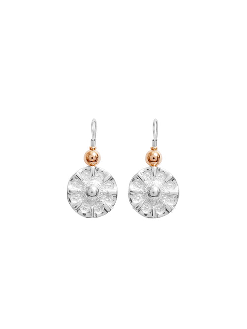 Fiorina Jewellery Simple Elite Vic Disc Earrings