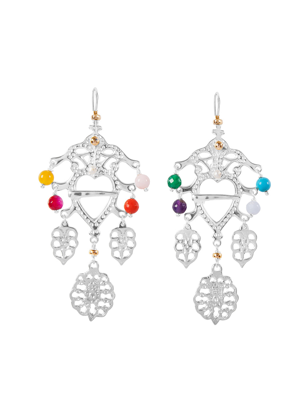 Fiorina Jewellery Folklore Earrings Chakra
