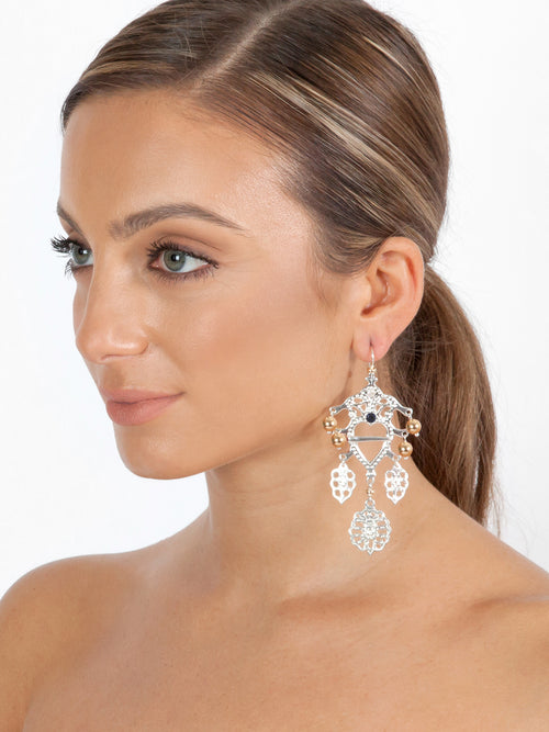 Fiorina Jewellery Folklore Earrings Gold Model