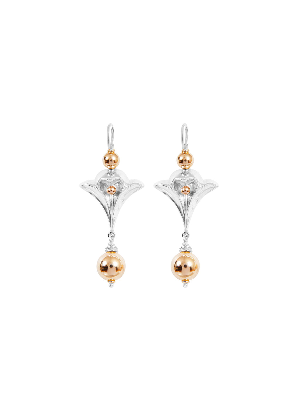 Fiorina Jewellery Fleur de Lis Earrings