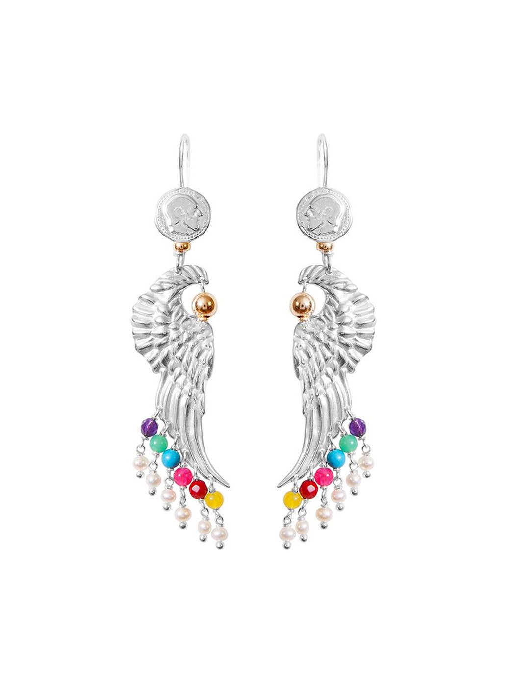 Fiorina Jewellery Dakota Earrings Chakra