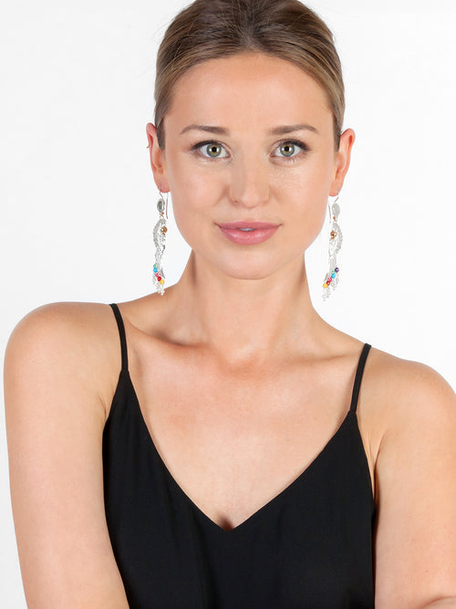 Fiorina Jewellery Dakota Earrings Chakra Model