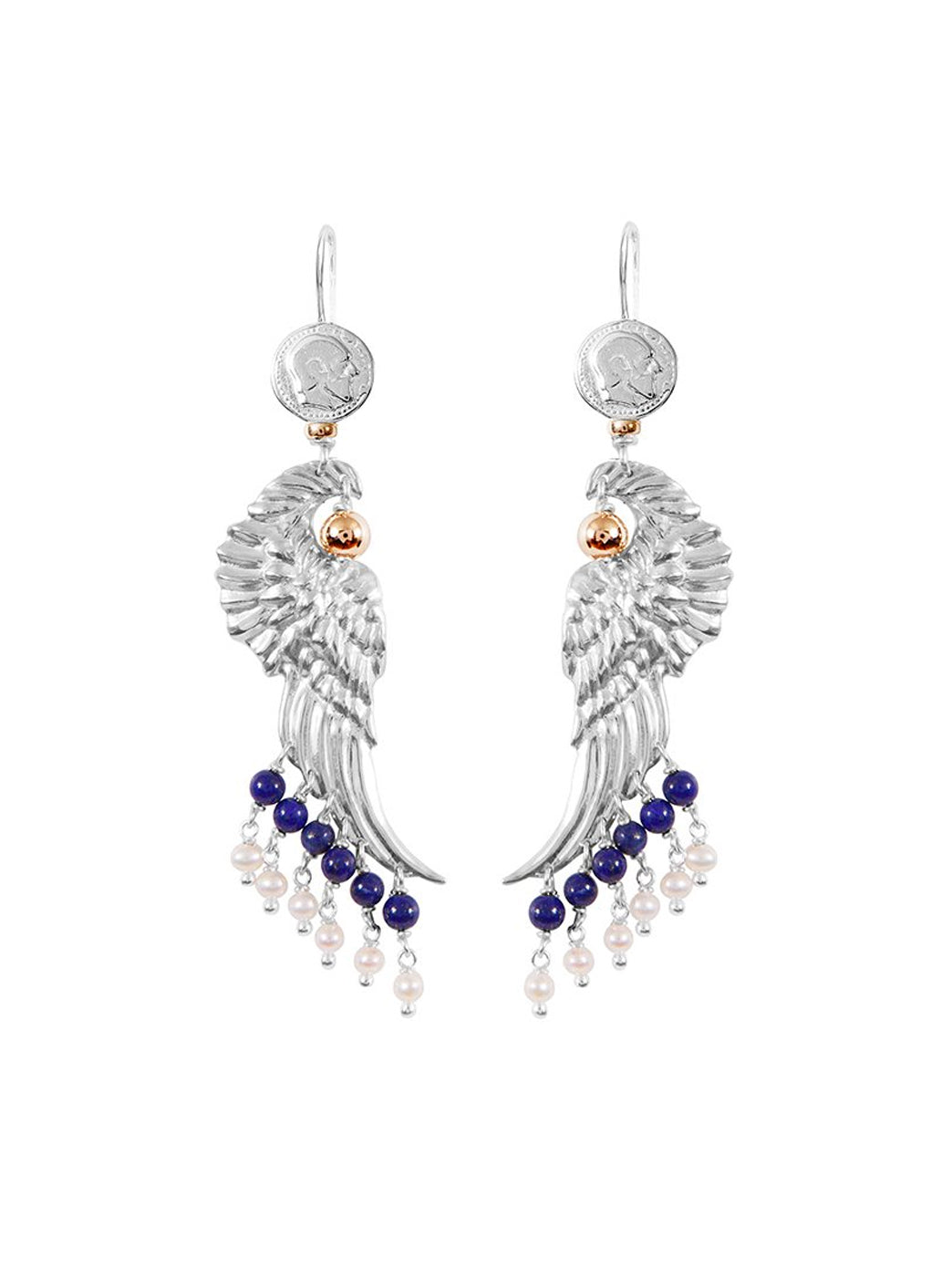 Fiorina Jewellery Dakota Earrings Lapis