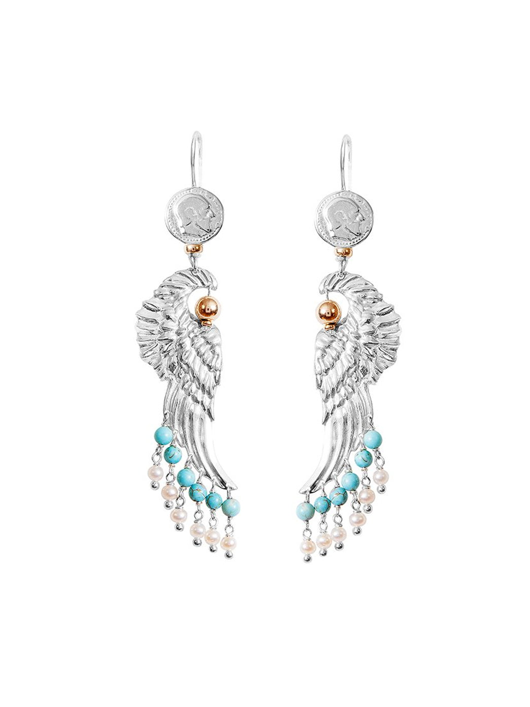 Fiorina Jewellery Dakota Earrings Turquoise