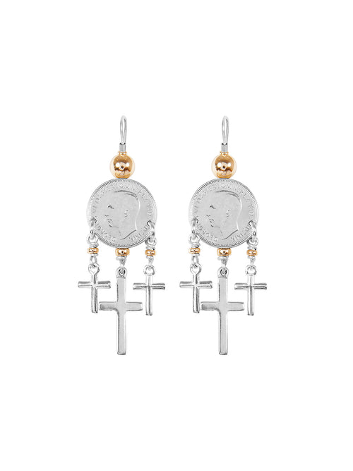 Fiorina Jewellery Mini Trinity Earrings