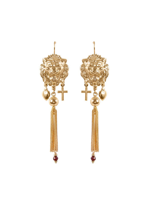 Fiorina Jewellery Gold Carita Tassel Earrings