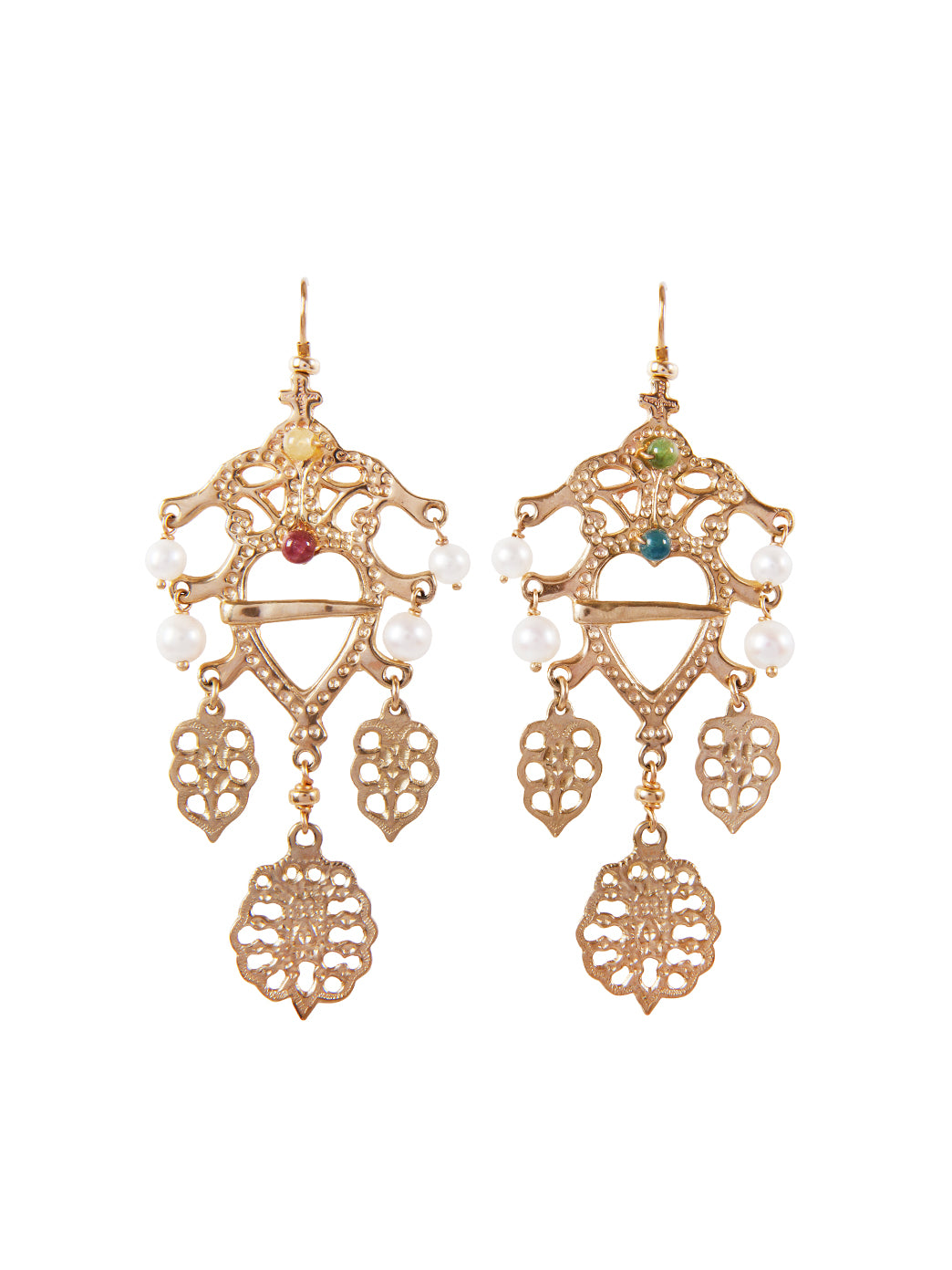 Fiorina Jewellery Gold Folklore Earrings