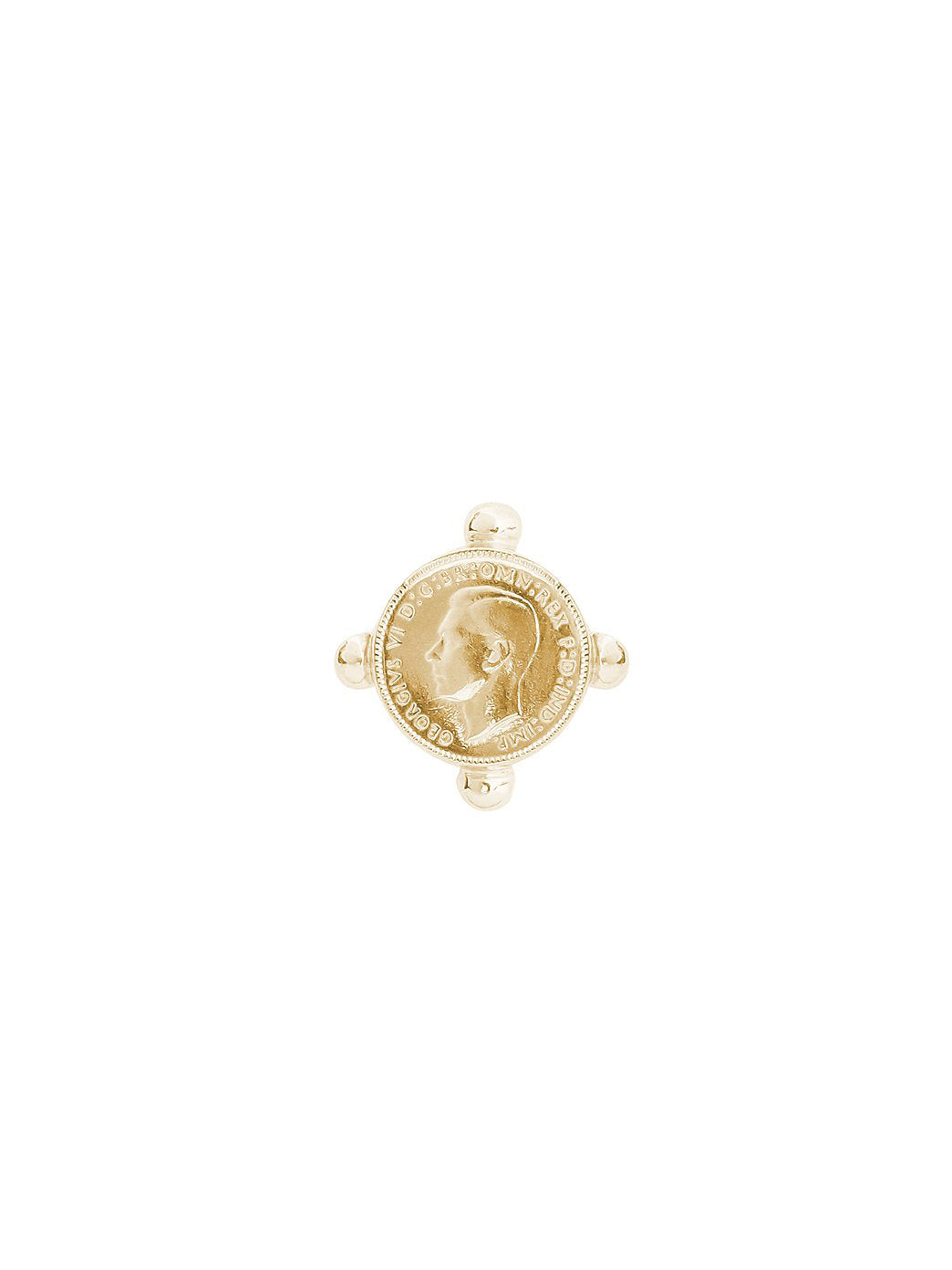 Fiorina Jewellery Gold Pinkie Ring