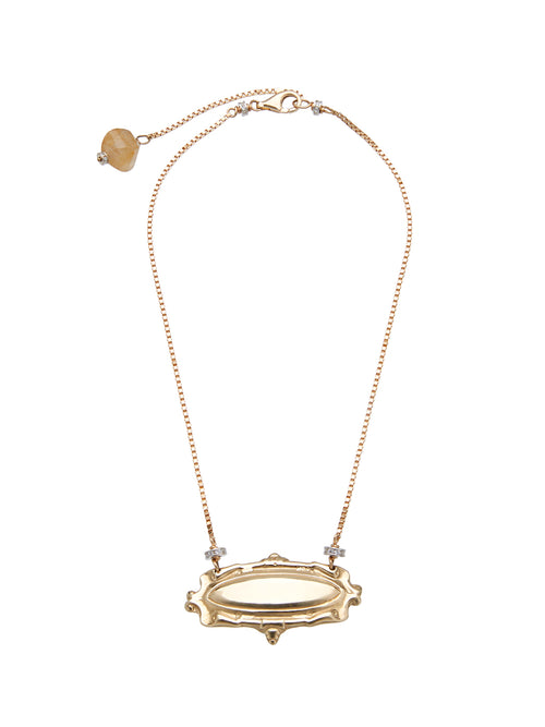 Fiorina Jewellery Gold Monster Scroll Necklace