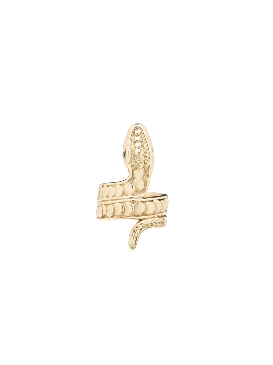 Fiorina Jewellery Gold Snake Ring
