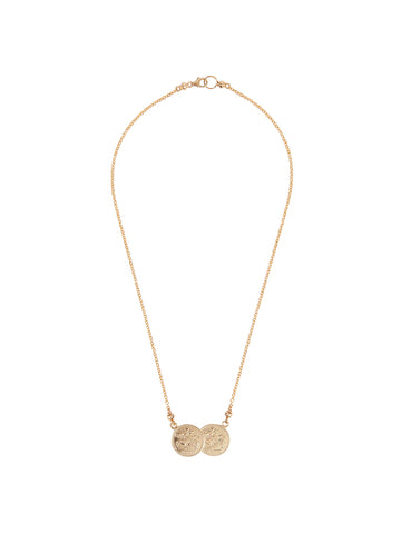 Gold Alphabet Street Necklace