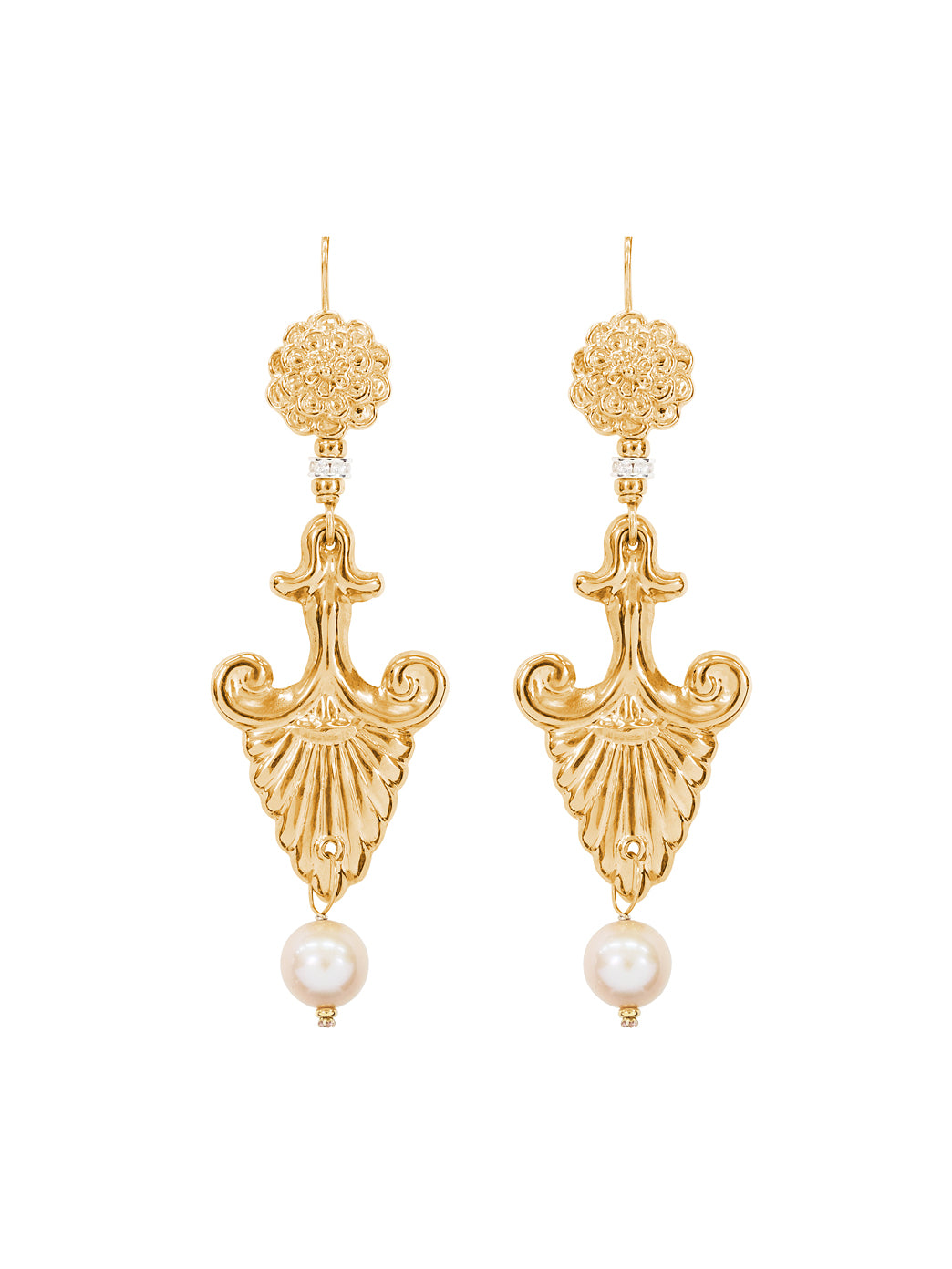 Fiorina Jewellery Gold Noto Earrings