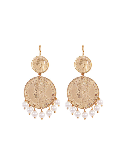 Fiorina Jewellery Gold Mini Marrakesh Earrings