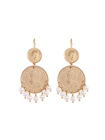 Decorative Sovereign Earrings