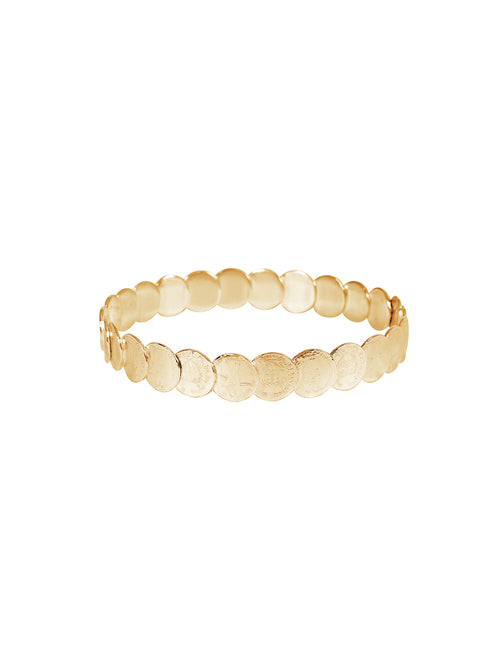 Fiorina Jewellery Gold St Liberus Medley Bangle