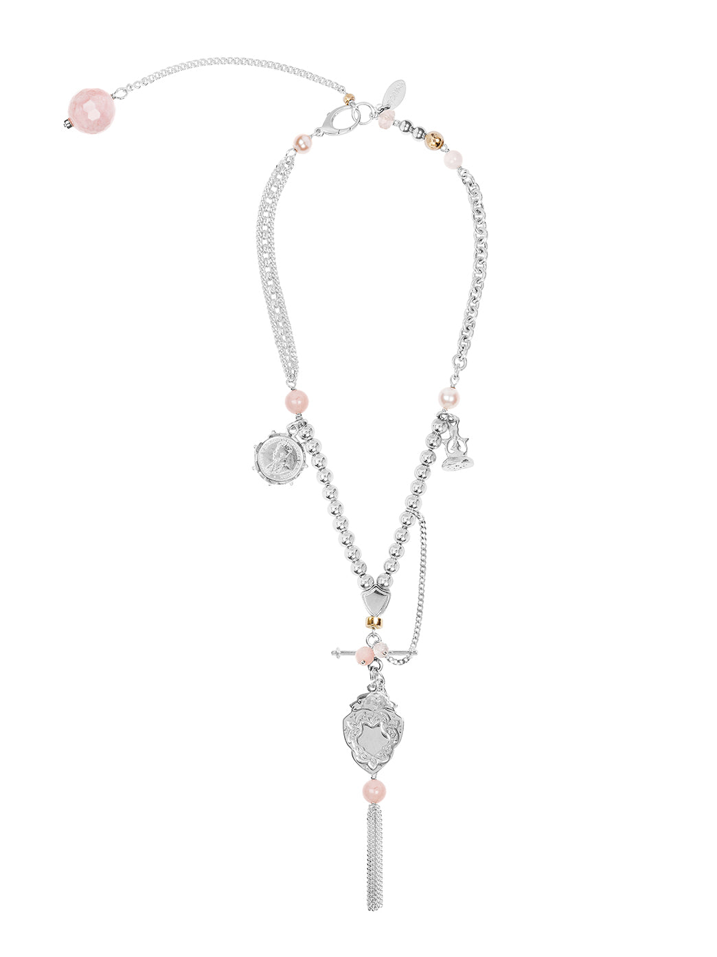 Fiorina Jewellery Arabella Necklace Pink