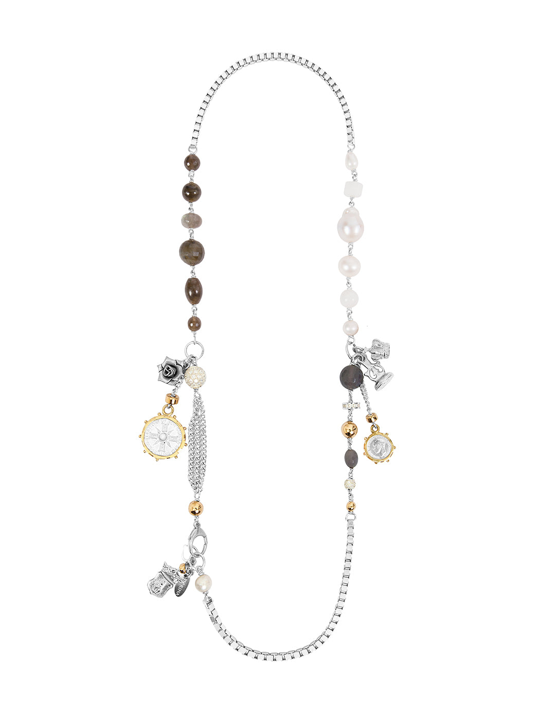 Fiorina Jewellery Carla Necklace Labradorite
