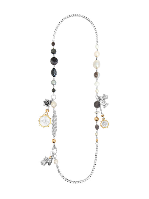 Fiorina Jewellery Carla Necklace Moonstone
